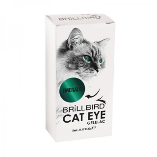 CAT EYE GEL&LAC - Emerald  5 ml