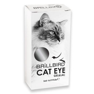 CAT EYE GEL&LAC - Silver  5 ml